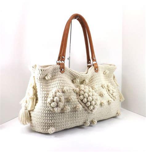 Sweater Knit Satchel By Gerard Darel by Gerard Darel Dublin Style Handbag With Genuine Leather