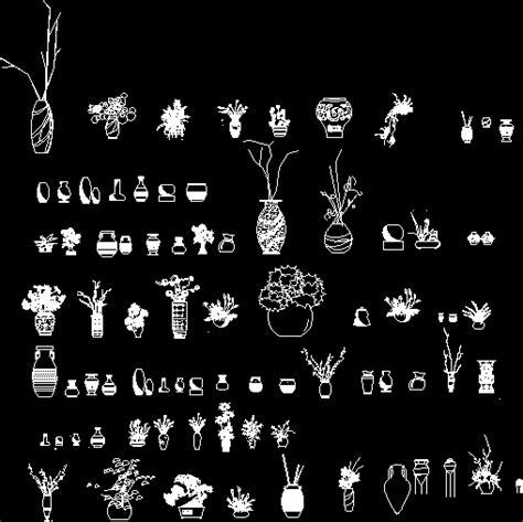 vases lamps  autocad  cad   mb