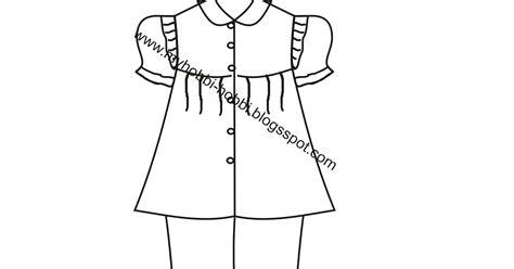 membuat pola baju muslim anak perempuan membuat pola baju tidur anak perempuan 1