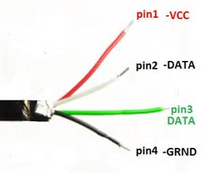usb cable wire color code color designation light schematic circuit wiring schematic