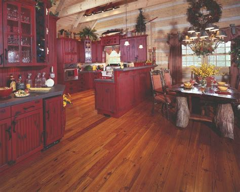 rustic red kitchen cabinets best 20 red kitchen cabinets ideas on pinterest red