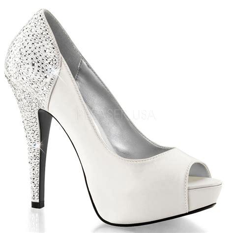 white bridesmaid shoes ivory white silk bridal heels wedding bridesmaid