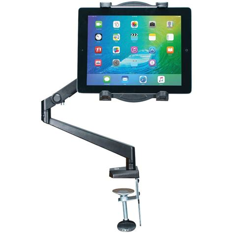 Tablet Wall Mount Diy by Cta Ipad Tablet Tabletop Arm Mount Pad Tam The Home Depot
