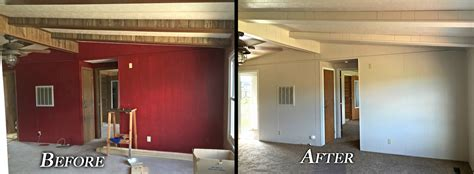 Room Interior Paint - interior paint before amp after red room grandis enterprises