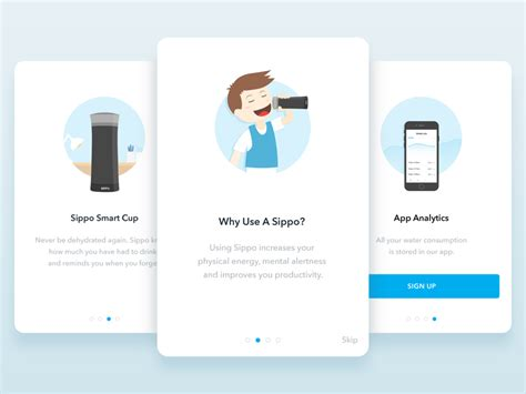 design app walkthrough walkthrough illustrations by dejan markovic dribbble