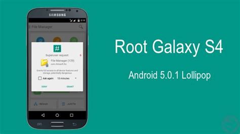samsung galaxy s4 android 5 0 how to root samsung galaxy s4 gt i9500 on android lollipop 5 0 1