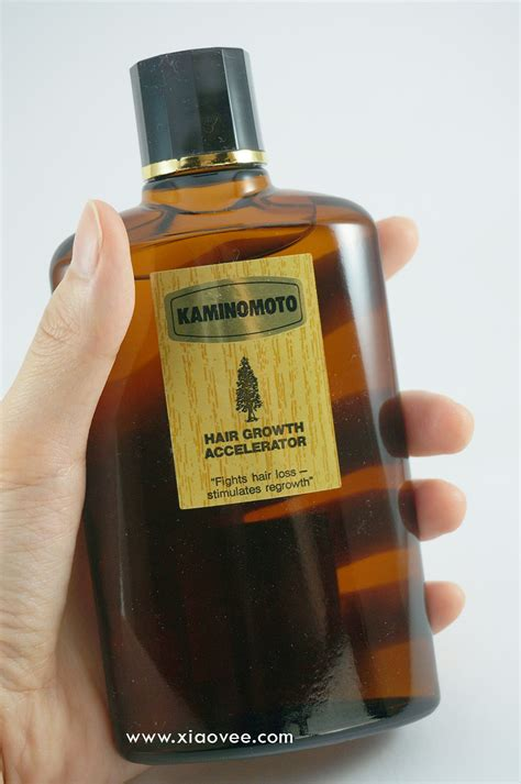Kaminomoto Hair Growth Accelerator Review Indonesia xiao vee kaminomoto hair
