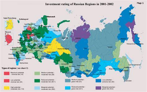 russia map by region russian regions map