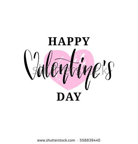 happy valentines day font happy valentines day handwritten lettering card stock