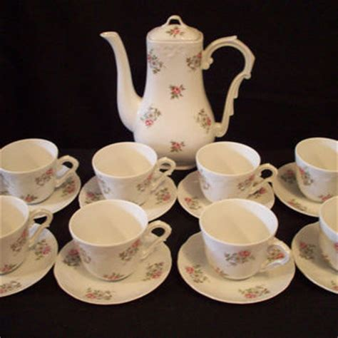 princess pink pattern tea set vintage tea set princess house porcelain from annetteattic on