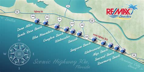30a map 30a neighborhoods remaxbeaches30a