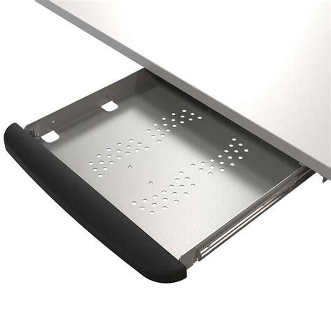 Locking Laptop Drawer by Safety Laptop Drawer With Lock Silver