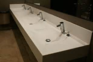 Costco Bathroom Vanities And Sinks by Pin Corian Commerical Trough Sink On Pinterest