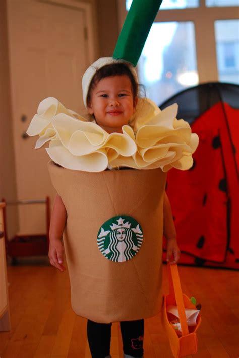 diy costume starbucks frappuccino halloween