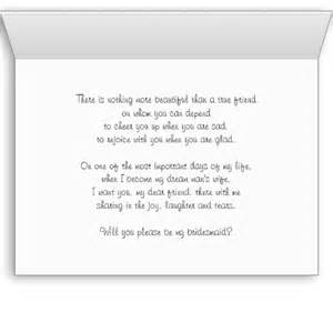 Will You Be My Bridesmaid Poem Will You Be My Bridesmaid Card Bridesmaid Poem