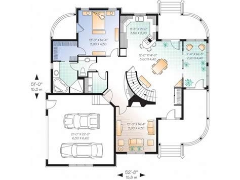 Home Design For 2000 Sq Ft Area Eplans Country House Plan U Shaped Kitchen 2348 Square