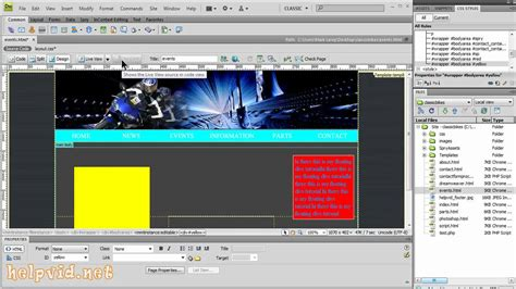 floating div floating div tags dreamweaver tutorial