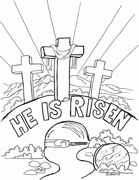 Christian Coloring Pages For 2 Year Olds | christian easter coloring pages coloring home
