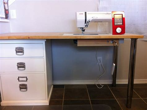 best sewing machine cabinets and tables 15 best images about diy sewing table on