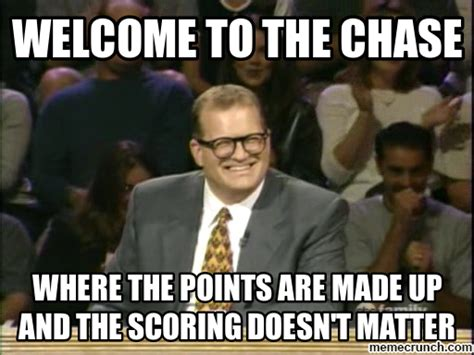 Drew Carey Meme - the chase