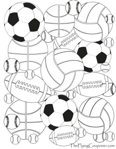 sports coloring sheets free printables colouring pages for adults and