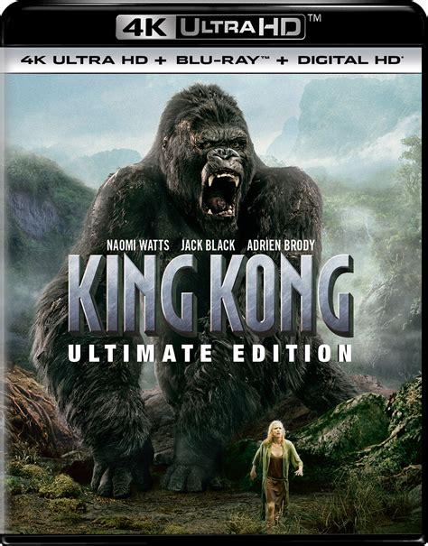 film blu ray 3d 4k king kong ultimate edition 4k blu ray
