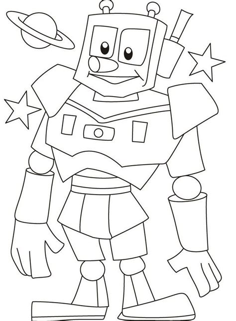 robot coloring pages printable r is for robot coloring pages