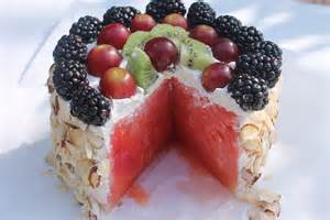 wassermelonen kuchen fresh watermelon cake i recipes