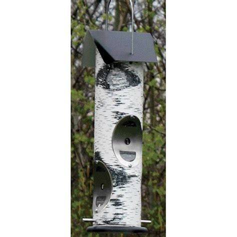 log2t white 2 lb cap nyjer seed feeder wild bird supplies