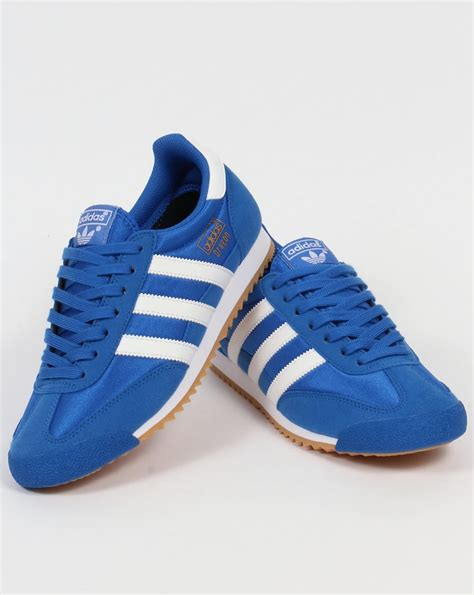 Adidas Blue adidas trainers blue white originals shoes og mens