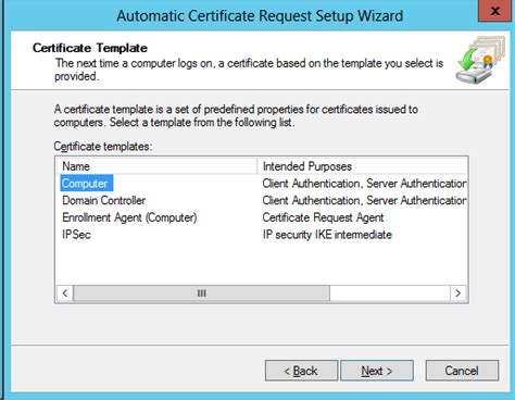 domain controller certificate template active directory domain controllers and certificate auto