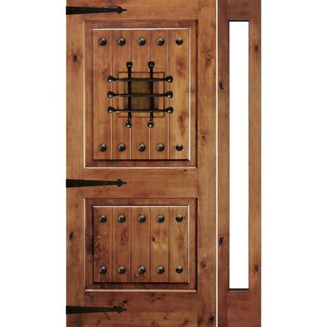 krosswood doors 18 in x 80 in knotty alder 2 panel krosswood doors 50 in x 80 in mediterranean knotty alder