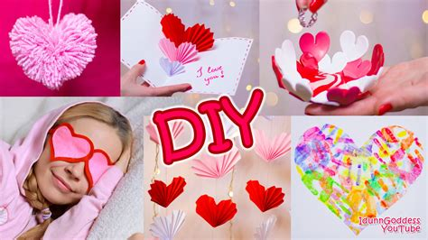 5 Valentines Day Gifts by 5 Diy S Day Gifts And Room Decor Ideas