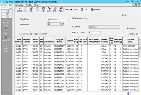 Jde Tables by Working With Jd Edwards Enterpriseone Table Conversion