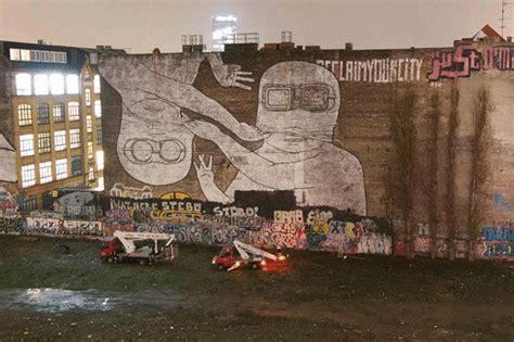 Berlin Wall Murals blu murals are gone biggest streetart icon of berlin got