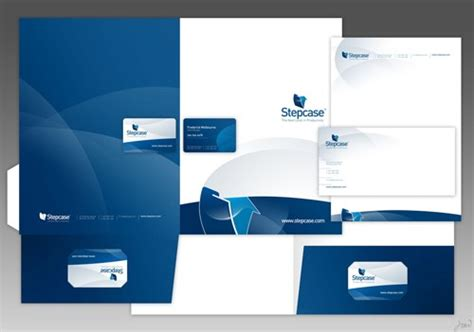 mapping layout perusahaan 35 creative presentation folder designs for identity branding