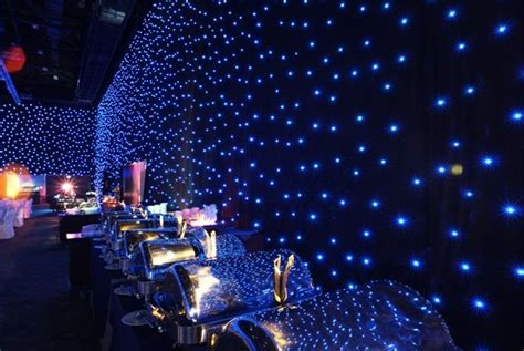 drape kings nyc black drape events star drop show led curtains drape