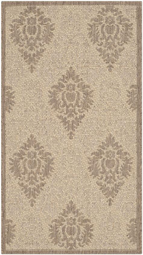 polypropylene outdoor rug safavieh indoor outdoor brown polypropylene area