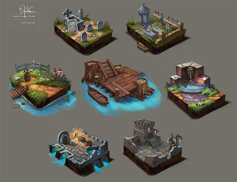 layout artist video games concept dioramas by churro818 on deviantart game art