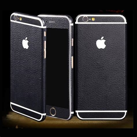 Leather Sticker For Iphone 7 Iphone 7 Plus Murah for iphone 7 6 6s plus textured leather skin sticker wrap