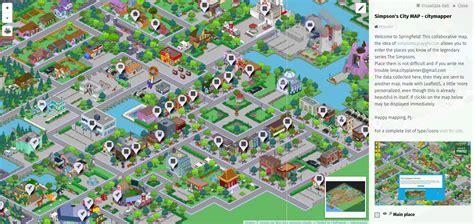 map city s city map