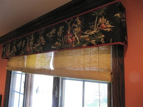 custom bamboo curtains custom cornice with bamboo blinds patty everett design