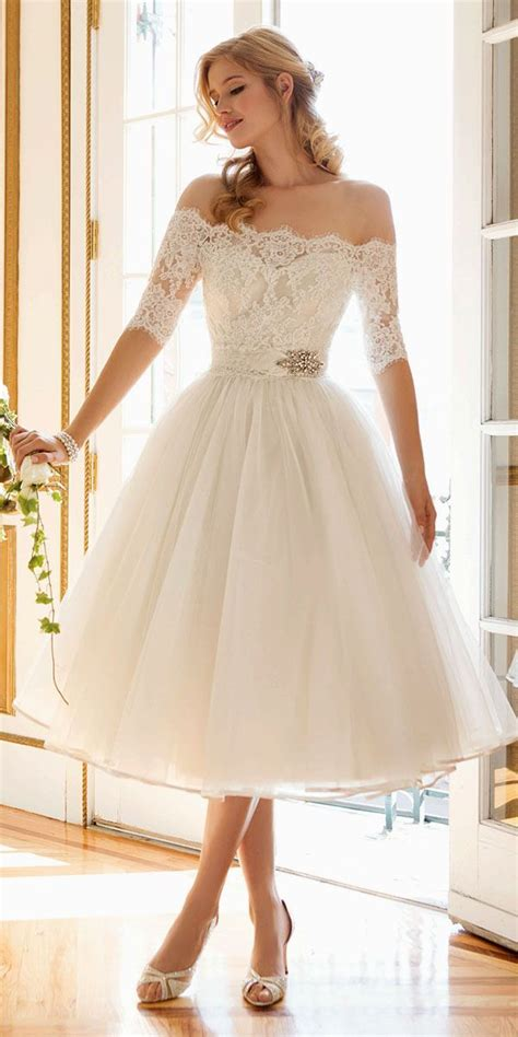 Tea Length Wedding Dresses by Wedding Dresses Tea Length Wedding Gowns 1