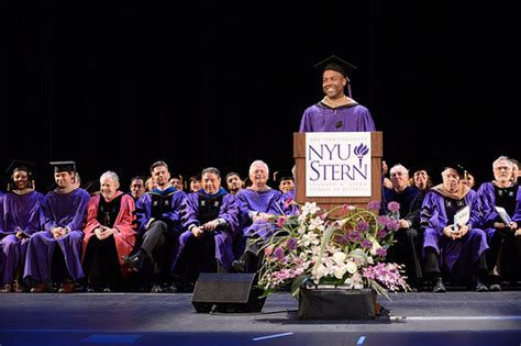 Nyu Mba Gre by Consortium Student Spoke At Nyu Graduation The