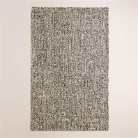 10 X 10 Wool Flatweave Rugs by Light Gray Emilie Flatweave Sweater Wool Area Rug World