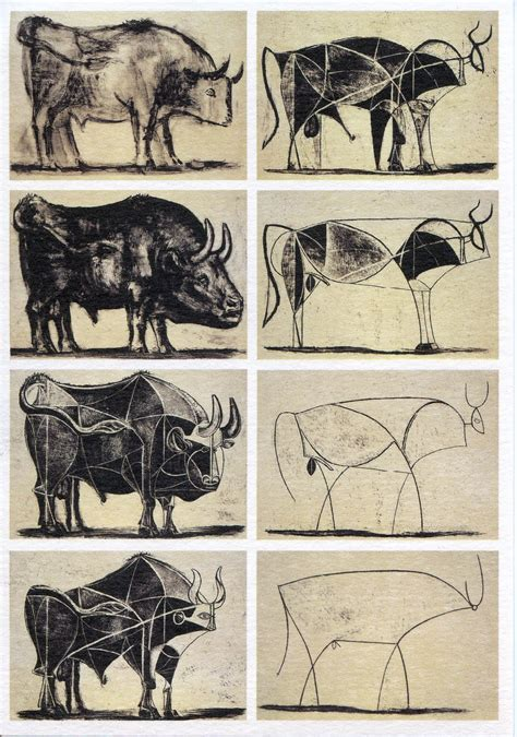 picasso paintings bull i asked for a cow to be on the box pizza hut does