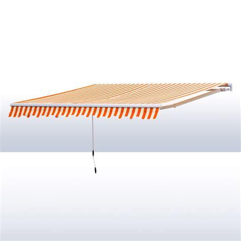 markise 5 meter alu markise rot beige 3 x 2 5 m