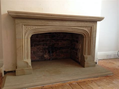 sandstone fireplace tomlinson stonecraft stonemason in carnforth uk