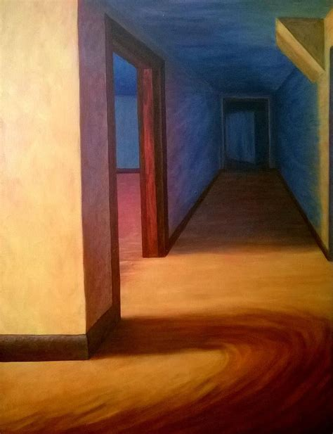 hall painting hallway painting by joann renner