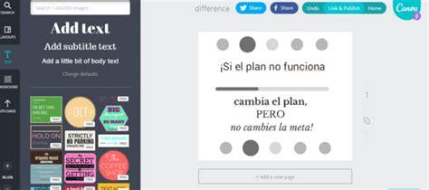 imagenes crear pdf 7 herramientas gratuitas para hacer dise 241 os con frases en